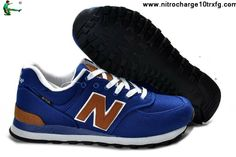 Best Gift New Balance NB ML574BPB backpack retro royalBlue Brown For Women shoes Casual shoes Shop