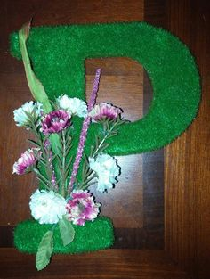 Initial Wall, Initials, Floral Wreath, Wreaths, Jewelry, Home Decor, Floral Crown, Jewlery, Decoration Home