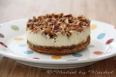Apple Pecan Cheesecake - bakedbyrachel.com