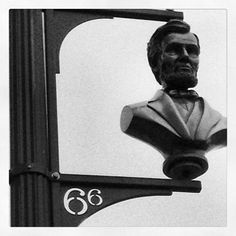 Abraham Lincoln Little Santa Monica LA CA (Taken with instagram)