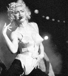 On July 21 1990, Madonna performed the second of three sold-out Blond Ambition Tour concerts at Wembley Stadium in London, England. Madonna performed to 225,000 adoring fans between July 20, 21 and…