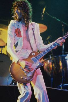 3rd Muse: Jimmy Page -70s -floral -free -bold -vibrant