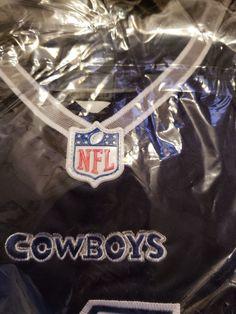 NFL Men s Dallas Cowboys  4 Dak Prescott Navy Game Jersey Size Medium New   DallasCowboys 19df9e842