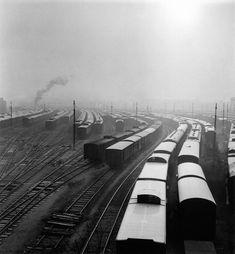 Robert Doisneau. Terminal SNCF. France 1945