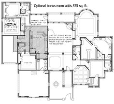 French Country Estate with Courtyard - 36180TX | Architectural Designs - House Plans