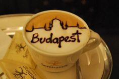 Coffee on a cold winter day - Budapest, Hungary Hungarian Cuisine, Hungarian Recipes, Hungarian Food, Capital Of Hungary, New Berlin, Latte Art, Budapest Hungary, Coffee Art, Coffee Break