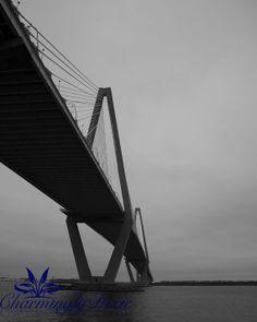 Ravenel Bridge Charleston SC  signed matted by CharminglyDixie, $30.00