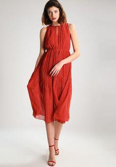 Anna Field Vestido informal - red/offwhite - Zalando.es 55