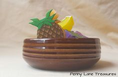 Vintage Hall Pottery Bowl ~ #2642 ~ Soup, Cereal, Salad Bowl ~ Brown Glaze ~ Ribbed ~ 1970's ~ Restaurant Ware  ~ Rustic ~ Kitchenware by PennyLaneTreasures on Etsy
