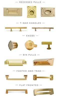 brass hardware: top 2 for my storage locker shelf