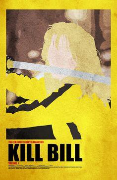 Kill Bill Volume 1 11 x 17 Movie Poster by Printwolf on Etsy