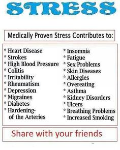 So de-stress