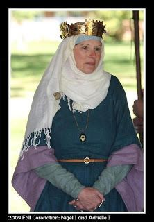 Tangwystl's eleventh-century Anglo-Saxon high-status underdress and overgown