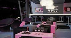 The Cube Lauren Perrier Champagne Bar Birmingham