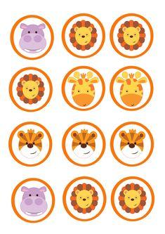 Imprimibles gratis que podeis descargar de nuestro blog, para decorar fiestas temáticas de animales. A que son chulis?  #fiestadelaselva #fiestadesafari #fiestastematicas #animales  #cumpleaños #cumpleañosinfantil #niños #imprimibles