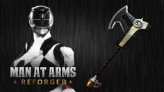 Power Rangers Power Axe - MAN AT ARMS:REFORGED: Which weapon will be next?…