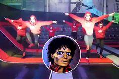North Devon dancers recreate Michael Jackson's Thriller video...on trampolines! http://www.mjvibe.com/north-devon-dancers-recreate-michael-jacksons-thriller-video-on-trampolines/