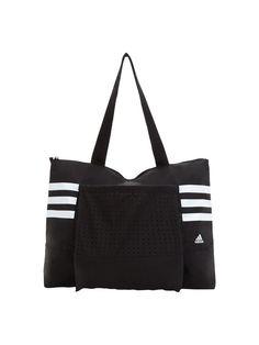 b9417245962 adidas Tote Bag Black And White Tote Bags, Black Tote Bag, Black White,