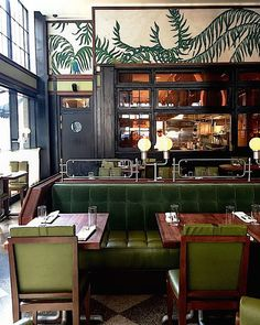 new orleans restaurant bar interior design Bar Interior, Restaurant Interior Design, Restaurant Interiors, Commercial Design, Commercial Interiors, Architecture Restaurant, Bar Restaurant, Restaurant Banquette, New Orleans