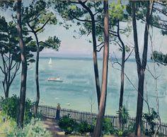 Albert Marquet - Jardin au Pyla (1935)
