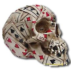 skull deck of cards