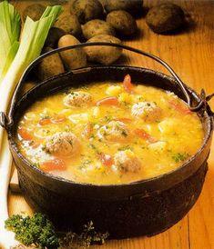 Supă de cartofi - Retete culinare - Romanesti si din Bucataria internationala