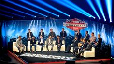 Kurt, AJ, Greg,Brad, Kasey, Jimmie, Ryan, Kevin, Denny, Dale, Aric, Kyle, Carl, Jeff, Matt & Joey w/ Marty Smith   Best quotes from Myers Bros. Awards, After the Lap | NASCAR.com