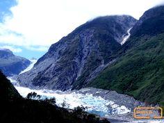 View on Fox Glacier,