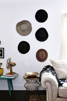 decorating with hats