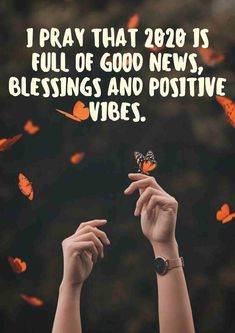 New Year's Quotes 2020 : QUOTATION – Image : Quotes Of the day – Life Quote New year hope quotes words 2020 : I pray that 2020 is full of good news, blessings and positive vibes. Sharing is Caring Short New Year Wishes, New Year Wishes Quotes, Happy New Year Quotes, Quotes About New Year, New Year Inspirational Quotes, Funny Motivational Quotes, Inspirational Message, Happy New Year Images, Wish Quotes