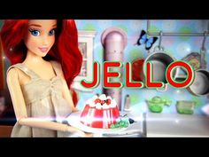 How to Make a Doll Jello Mold - Doll Crafts Barbie Food, Barbie Dolls, Diy Doll Food, Myfroggystuff, Lol Dolls, Little Doll, Barbie Friends, Doll Crafts, Toy Store