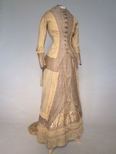 Dress, 1880-82, at the Manchester City Galleries