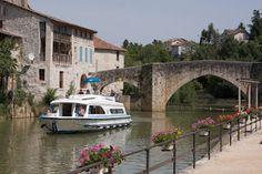 Turisme Fluvial a l'Aquitana, França