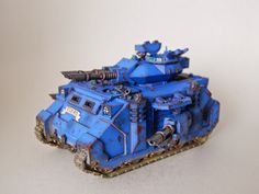 WrocWar: Showcase: Ultramarines Predator