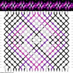 Muster # 92045, Streicher: 24 Zeilen: 20 Farben: 6
