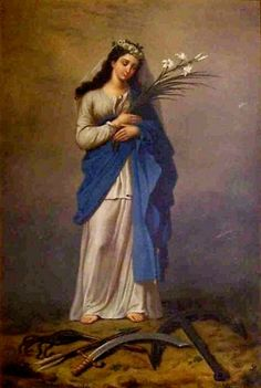 Sacra Galeria: Santa Filomena