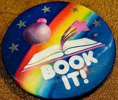 Pizza Hut Book It! Reading Pin