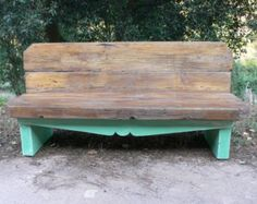 Small Wood Bench by WoodOnWoodEncinitas on Etsy