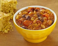 Vegetarian Chili with Wheat Germ | The Daily Meal