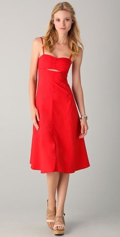 Special Offers Available Click Image Above: 10 Crosby Derek Lam Cutout Sun Midi Dress