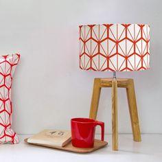 Lampe sur Pied Fragments Rouge - Lampes a Poser