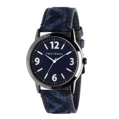 TOKYO bay Watch - Indigo Geo http://tomboyx.com/collections/accessories