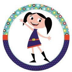 O Show da Luna – Kit festa grátis para imprimir – Inspire sua Festa ®