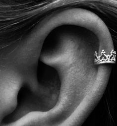 crown cartilage earing