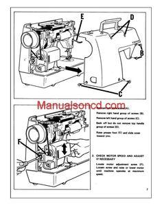 Pfaff Sewing Machine Service manual