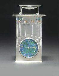 ARCHIBALD KNOX; THE MAGNUS, CLOCK