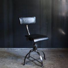 """商品詳細 """"Bienaise"""" Industrial Chair with Leather/ビエネーゼチェアー Industrial Chair, Interior, Leather, Furniture, Home Decor, Atelier, Decoration Home, Indoor, Room Decor"""