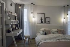 Novostavba rodinného domku v Minicích   Infinity Interiér Ladder Bookcase, Shelves, Furniture, Home Decor, Shelving, Decoration Home, Room Decor, Shelving Units, Home Furnishings