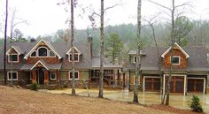 Rugged Architectural Designs Exclusive House Plan 92368MX  ~2,400 sq. ft. combined main floor and upstairs bedroom suite and sleeping loft.  3 car garage has living space above. And there is an optional finished lower level.  Ready when you are. Where do YOU want to build?
