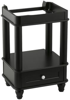 Features:  Base Finish: -Black.  Base Material: -Wood.  Country of Manufacture…